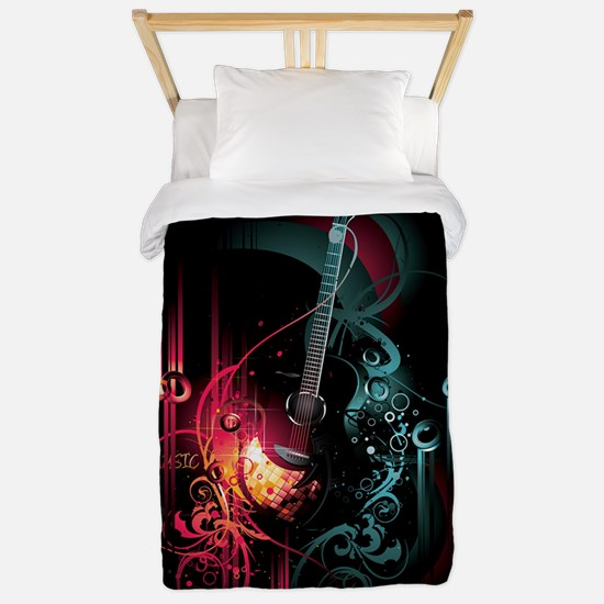 Electric Guitar Twin Duvet