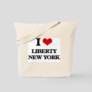 I love Liberty New York Tote Bag