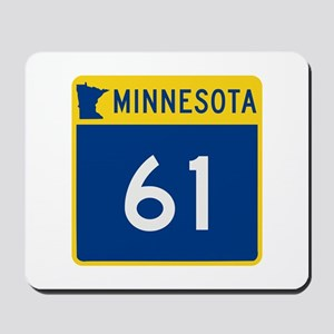 Trunk Highway 61, Minnesota Mousepad