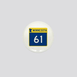 Trunk Highway 61, Minnesota Mini Button