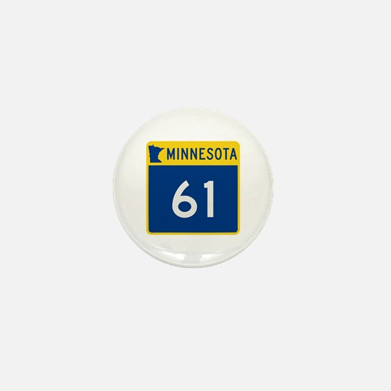 Trunk Highway 61, Minnesota Mini Button