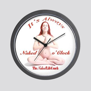 Naked O'clock Simple Wall Clock