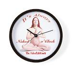 Naked O'clock Simple Wall Clock