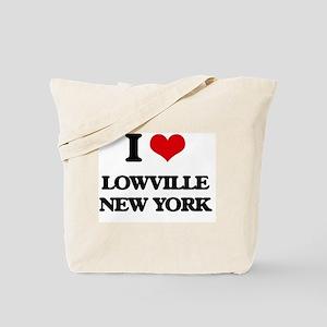 I love Lowville New York Tote Bag