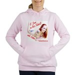 I love to Get Naked! with Nadine Women's Hooded Sw