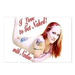 I love to Get Naked! with Nadine Postcards (Packag