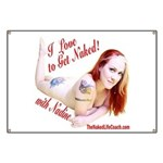 I love to Get Naked! with Nadine Banner