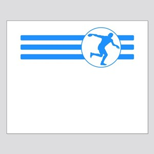 Discus Throw Stripes (Blue) Posters