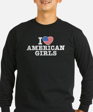I Love American Girls T