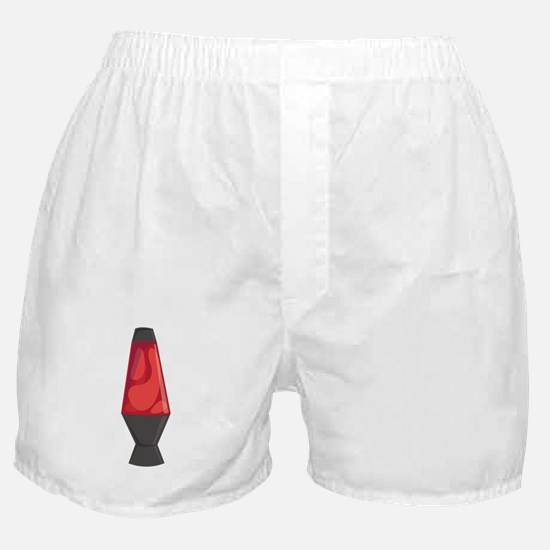 Red Lava Lamb Boxer Shorts