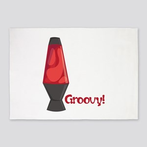 Groovy! 5'x7'Area Rug