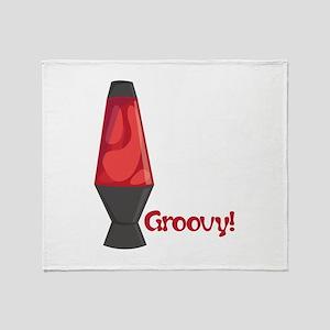 Groovy! Throw Blanket