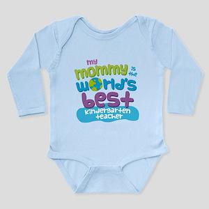 Teacher Mom Long Sleeve Infant Bodysuit