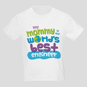 Engineer Mom (Best) Kids Light T-Shirt