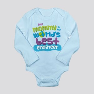 Engineer Mom (Best) Long Sleeve Infant Bodysuit