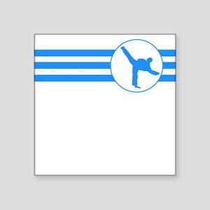 Karate Kick Stripes (Blue) Sticker
