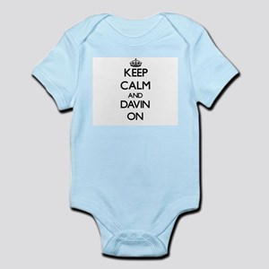 Keep Calm and Davin ON Body Suit