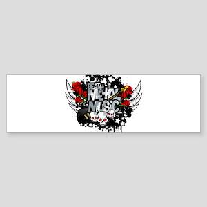 Death Metal Bumper Sticker