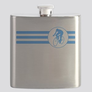 Cyclist Stripes (Blue) Flask
