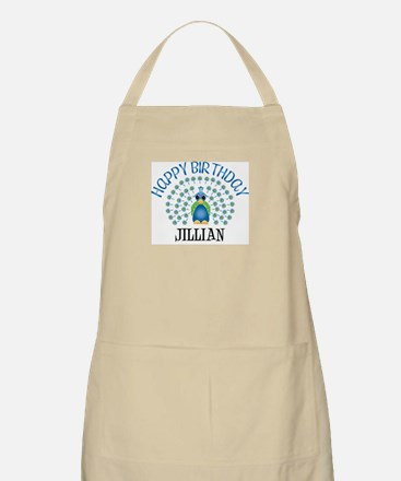 Happy Birthday JILLIAN (peaco BBQ Apron