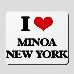 I love Minoa New York Mousepad