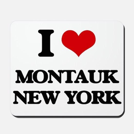 I love Montauk New York Mousepad