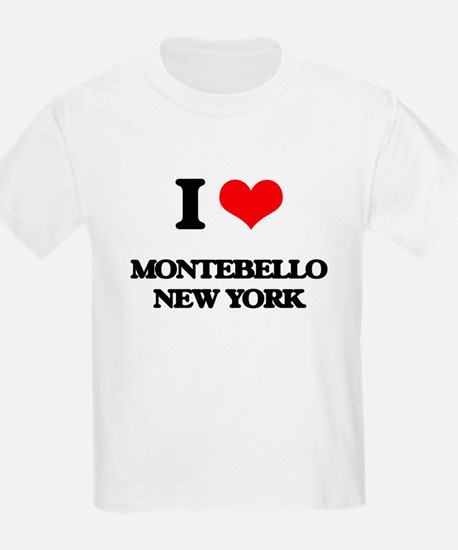 I love Montebello New York T-Shirt