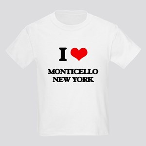 I love Monticello New York T-Shirt