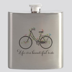 Life is a beautiful ride Flask
