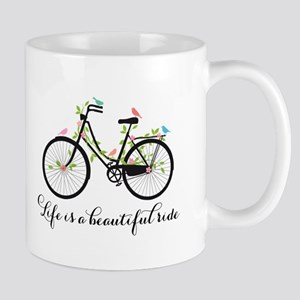 Life is a beautiful ride Mugs