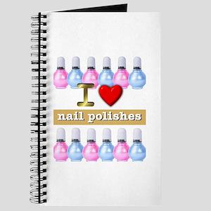 I Love Nail Polishes Journal