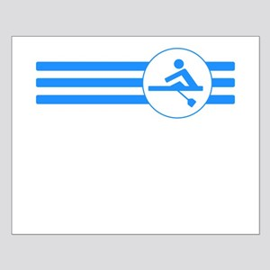 Rower Stripes (Blue) Posters