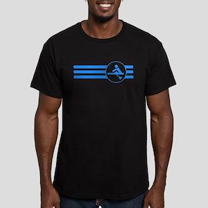 Rower Stripes (Blue) T-Shirt