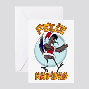 FELIZ NAVIDAD RANDY ROADRUNNER Greeting Cards