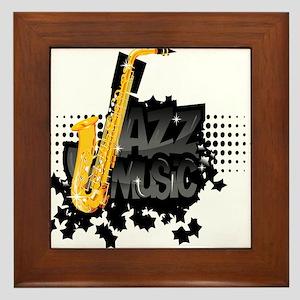 Jazz Framed Tile