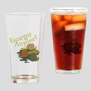 Escargot Anyone? Drinking Glass