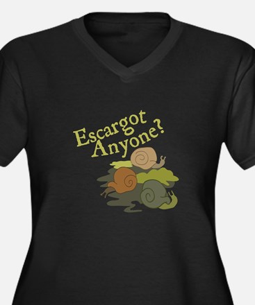 Escargot Anyone? Plus Size T-Shirt