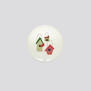 Bird House Mini Button