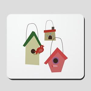 Bird House Mousepad