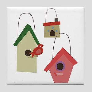 Bird House Tile Coaster