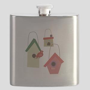 Bird House Flask
