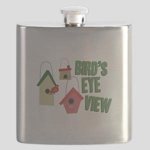 Bird's Eye View Flask