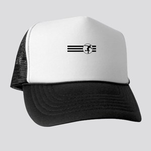Discus Throw Stripes Trucker Hat