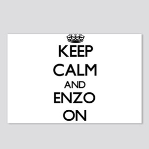 Keep Calm and Enzo ON Postcards (Package of 8)