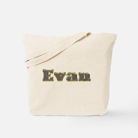 Evan Gold Diamond Bling Tote Bag