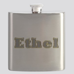 Ethel Gold Diamond Bling Flask