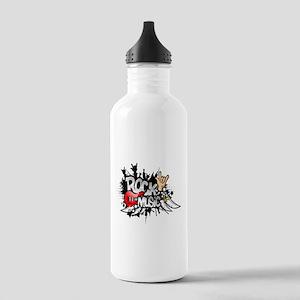 Rock Music Water Bottle