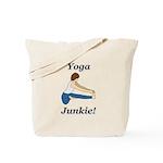 Yoga Junkie Tote Bag