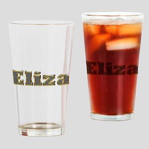 Eliza Gold Diamond Bling Drinking Glass