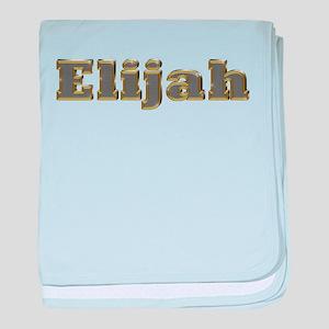 Elijah Gold Diamond Bling baby blanket